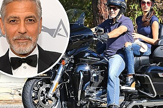 George Clooney narra el accidente en moto de Cerdeña