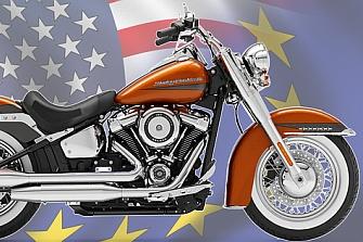Europa no aplicará aranceles sobre piezas de motocicletas estadounidenses