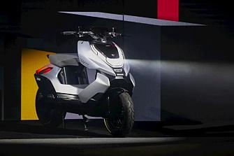 Zehoo Cyber: el primer scooter eléctrico de CFMoto