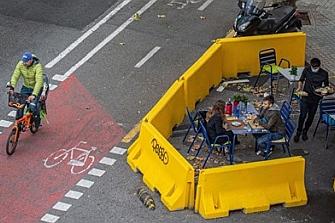 Barcelona retirará los bloques de hormigón que ocasionaron la muerte de un motorista