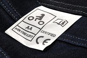 Siempre se debe comprar ropa técnica con certificación CE