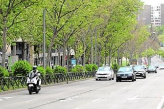 El `Carril Avanza Moto´ llega a Madrid
