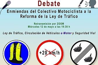 Debate sobre la Reforma de la Ley de Tráfico propuesta por la DGT