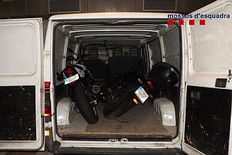 Desarticulan una banda que robaba motos para enviarlas a marruecos
