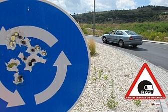 Riesgo de ser tiroteado en las carreteras españolas