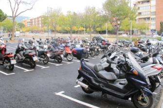 Se crean 191 nuevas plazas de aparcamiento para motos en Barcelona