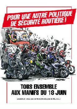 Manifestaciones en Francia el 18 de junio