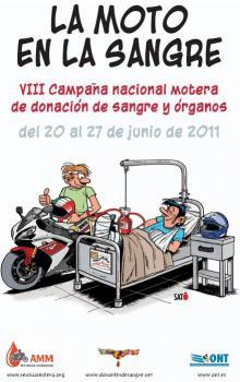 La Asociación Mutua Motera organiza la VIII Campaña Nacional Motera de Donación de Sangre y Órganos