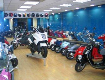 Las ventas de motos caen un 14,8% y las de ciclomotores bajan un 13%
