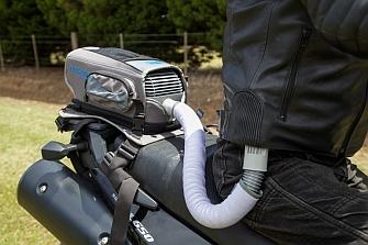 Entrosys BikeAir, el aire acondicionado para motos
