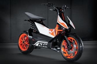 KTM desvela el prototipo eléctrico E-Speed