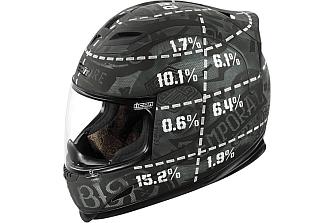 Icon Airframe Statistic: Un casco para predicar con el ejemplo