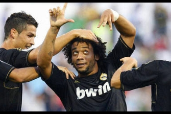 El jugador del Real Madrid Marcelo, «cazado» sin puntos en el carné de conducir