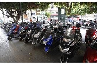 El número de motos matriculadas creció un 25% en solo cuatro años