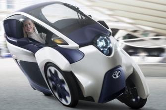 Toyota i-Road, eléctrico biplaza de tres ruedas